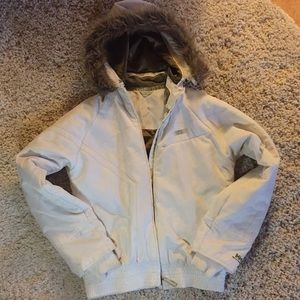 Helly Hansen white winter jacket- size S